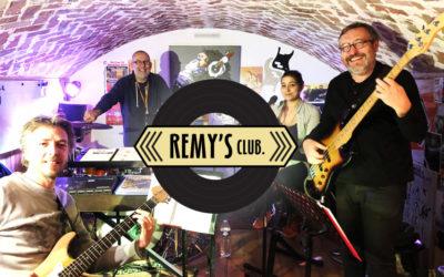 Remy's Club en live !
